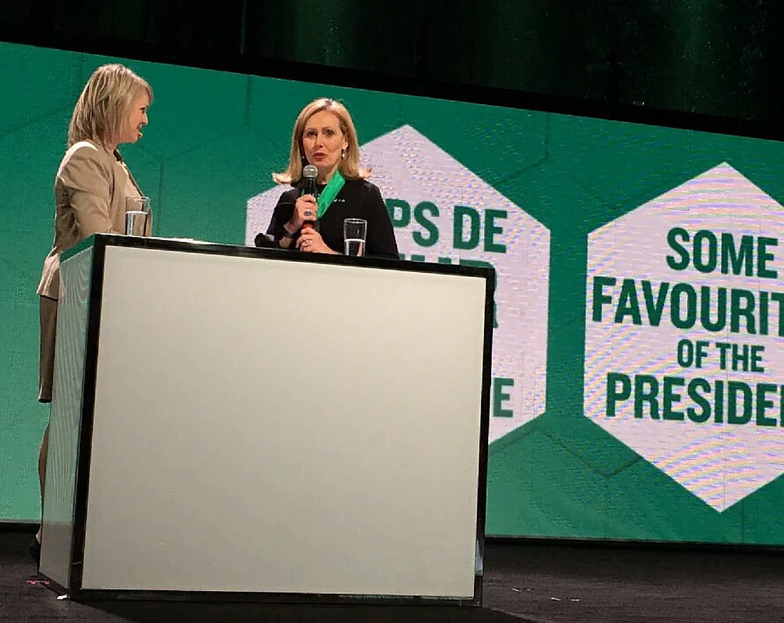 Karina et Monique Leroux