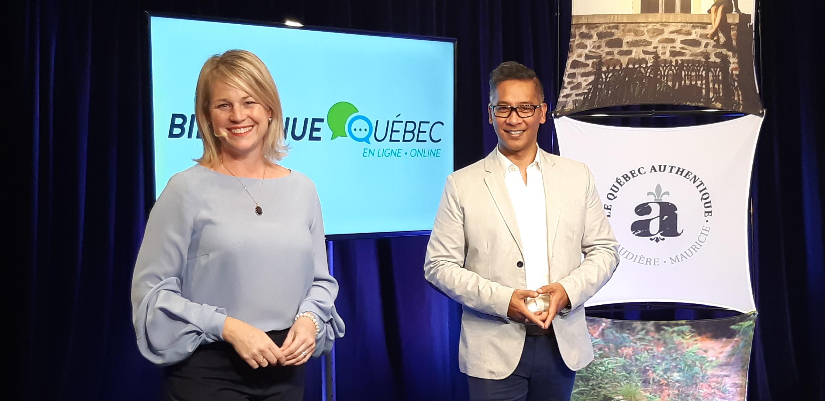 20201026 Eklosion Karina Lehoux et Anthony Horng Bienvenue Québec