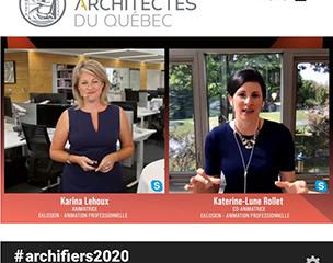 20200604 Eklosion Ordre architectes Québec - Karina Lehoux et Katerine-Lune Rollet
