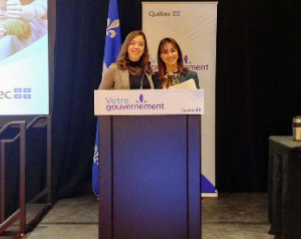 202002 Eklosion MSSS Forum - Veronique Beaulieu et Taina Lavoie